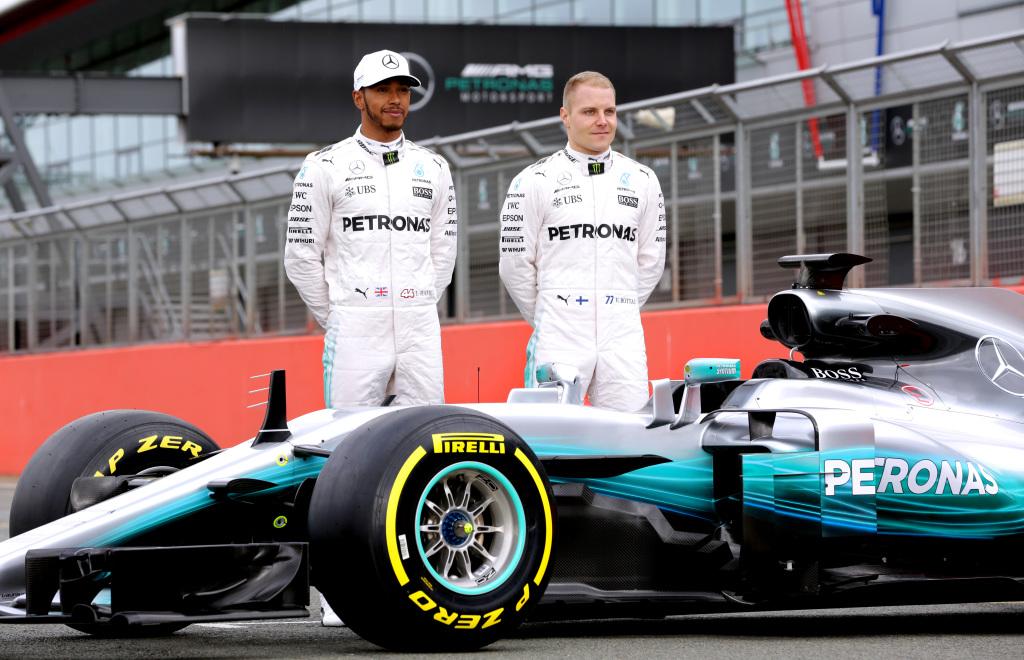 Lewis Hamilton és Valtteri Bottas (Fotó: Mercedes)