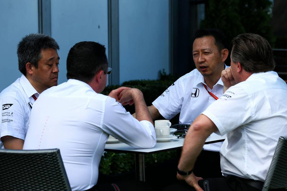 A McLaren és a Honda vezetői (Fotó: XPB)