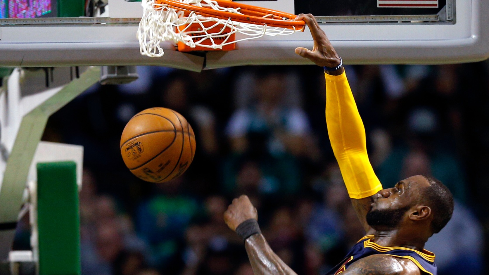 LeBron James (Fotó: EPA/CJ Gunther)