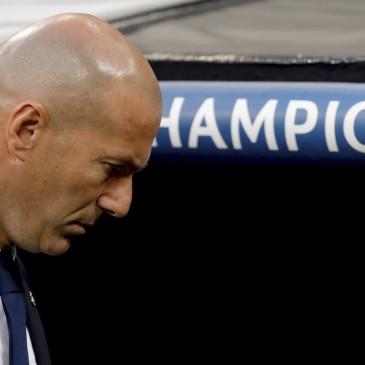 Real Madrid-Bayern München - Zinedine Zidane (Fotó: EPA/Juanjo Martin)