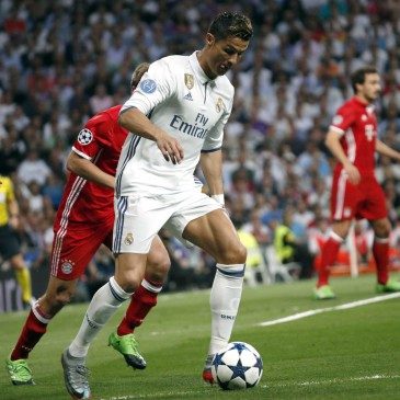 Real Madrid-Bayern München - Cristiano Ronaldo (Fotó: EPA/ZIPI)