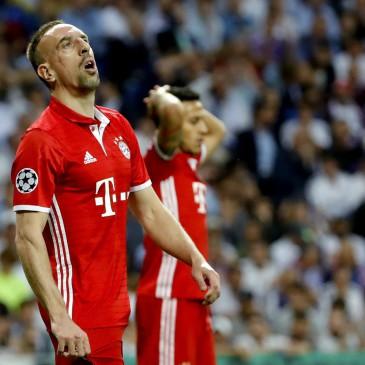 Real Madrid-Bayern München - Franck Ribery (Fotó: EPA/Juanjo Martin)