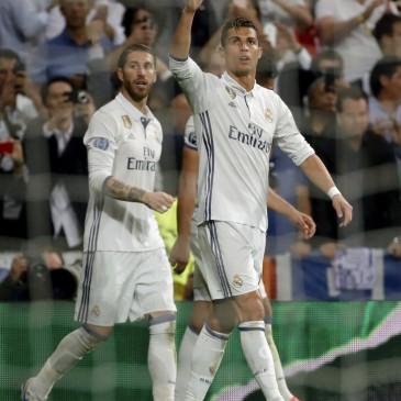 Ronaldo ezúttal is eredményes volt (Fotó:EPA/JUANJO MARTIN)
