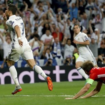 Ezúttal is jó meccset, nagy izgalmakat hozott a Real Madrid - Bayern München összecsapás (Fotó: EPA/JUANJO MARTIN)