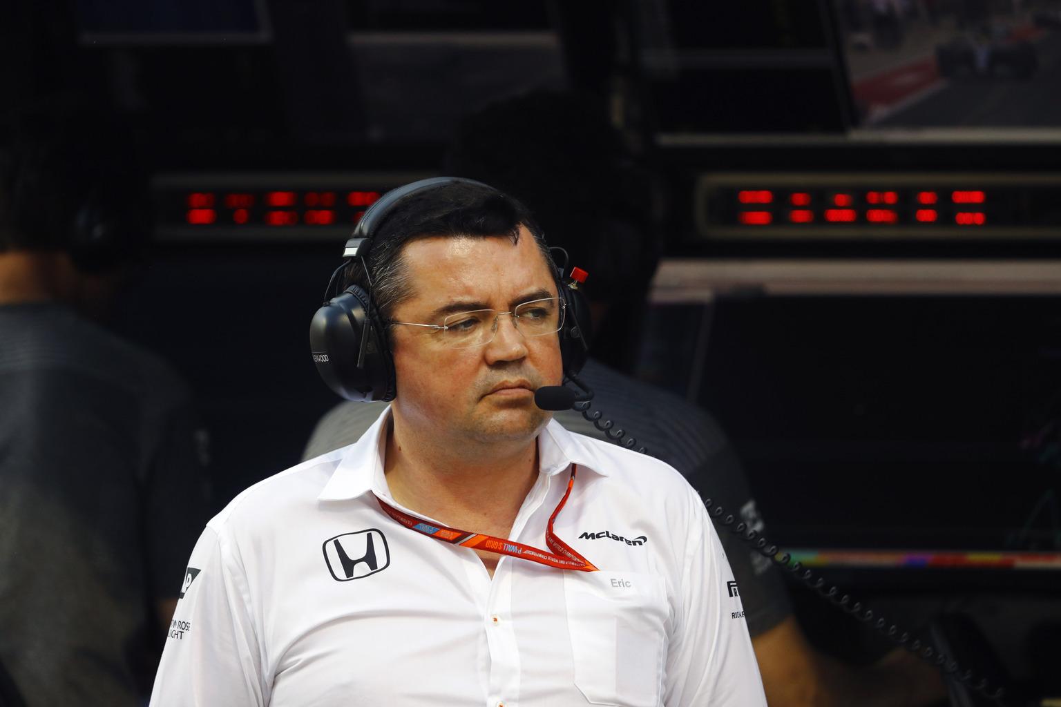 Éric Boullier (Fotó: McLaren)