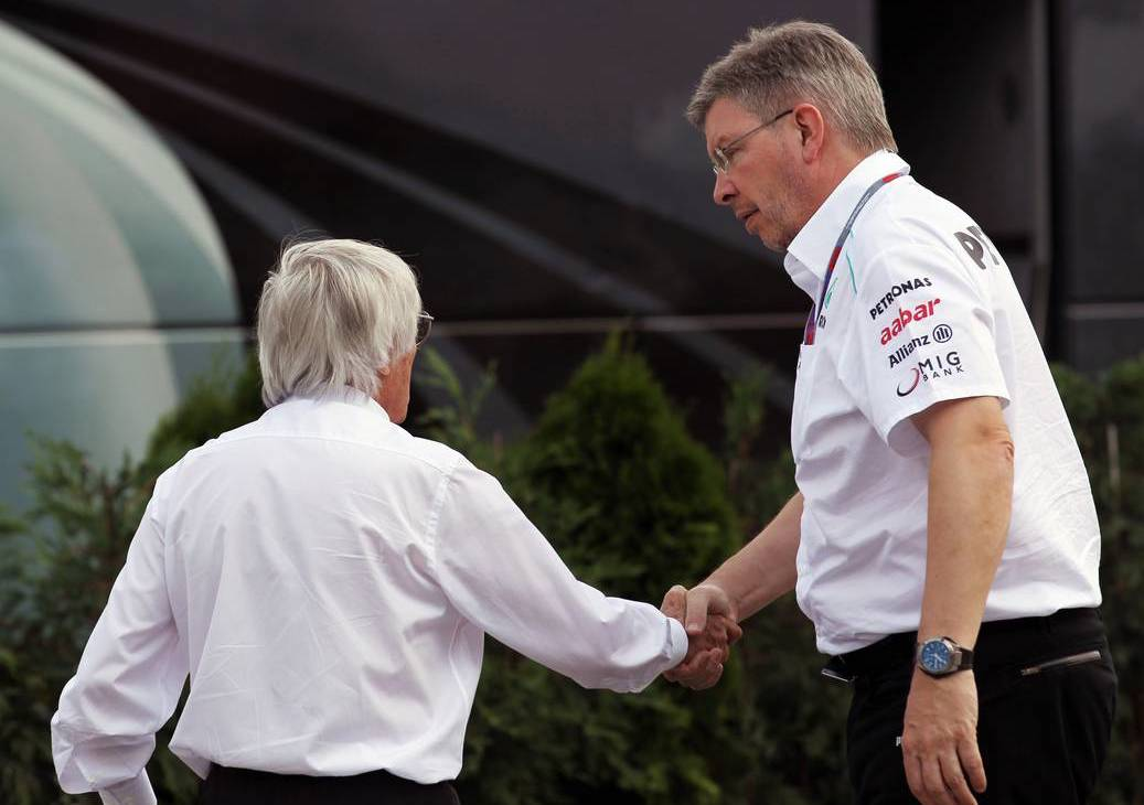 Bernie Ecclestone és Ross Brawn (Fotó: Batchelor / XPB Images)