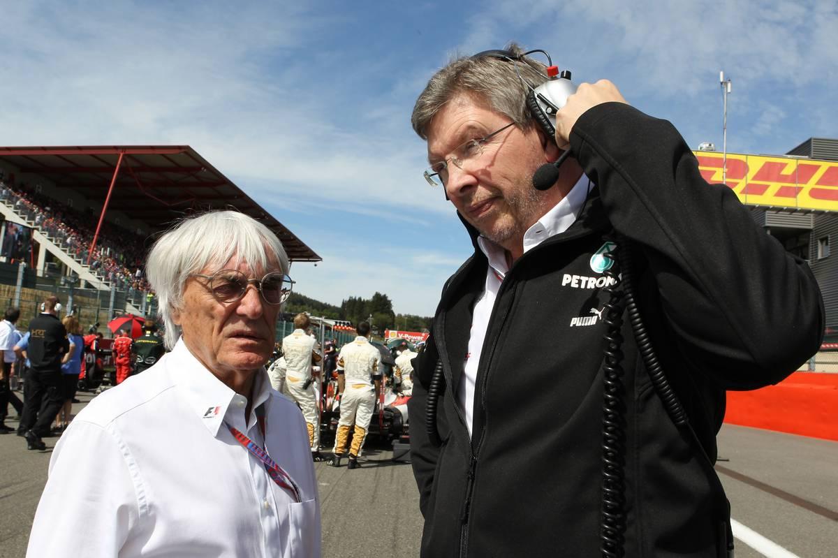 Bernie Ecclestone és Ross Brawn (Fotó: XPB)