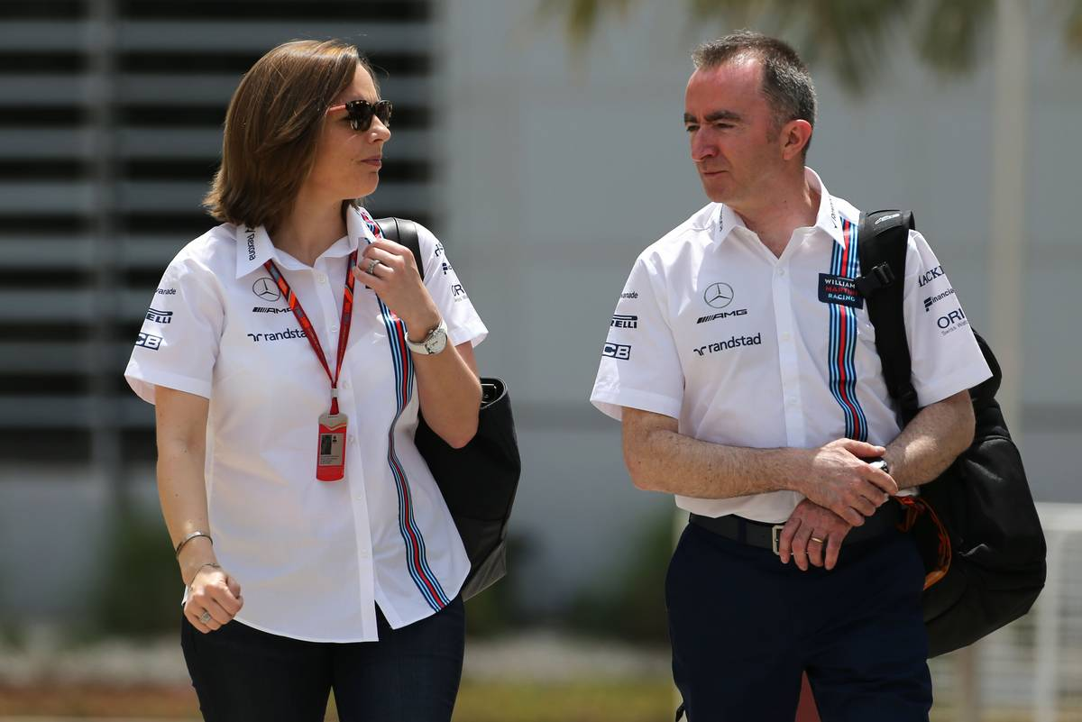 Claire Williams és Paddy Lowe (Fotó: XPB)