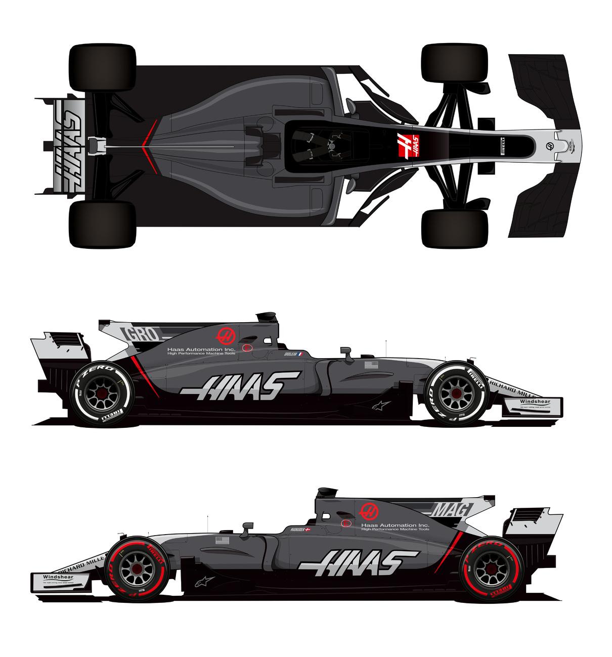 A Haas új festése (Kép: Haas)