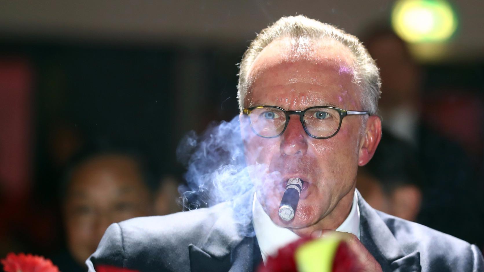 Karl-Heinz Rummenigge (Fotó: EPA/Alexander Hassenstein)