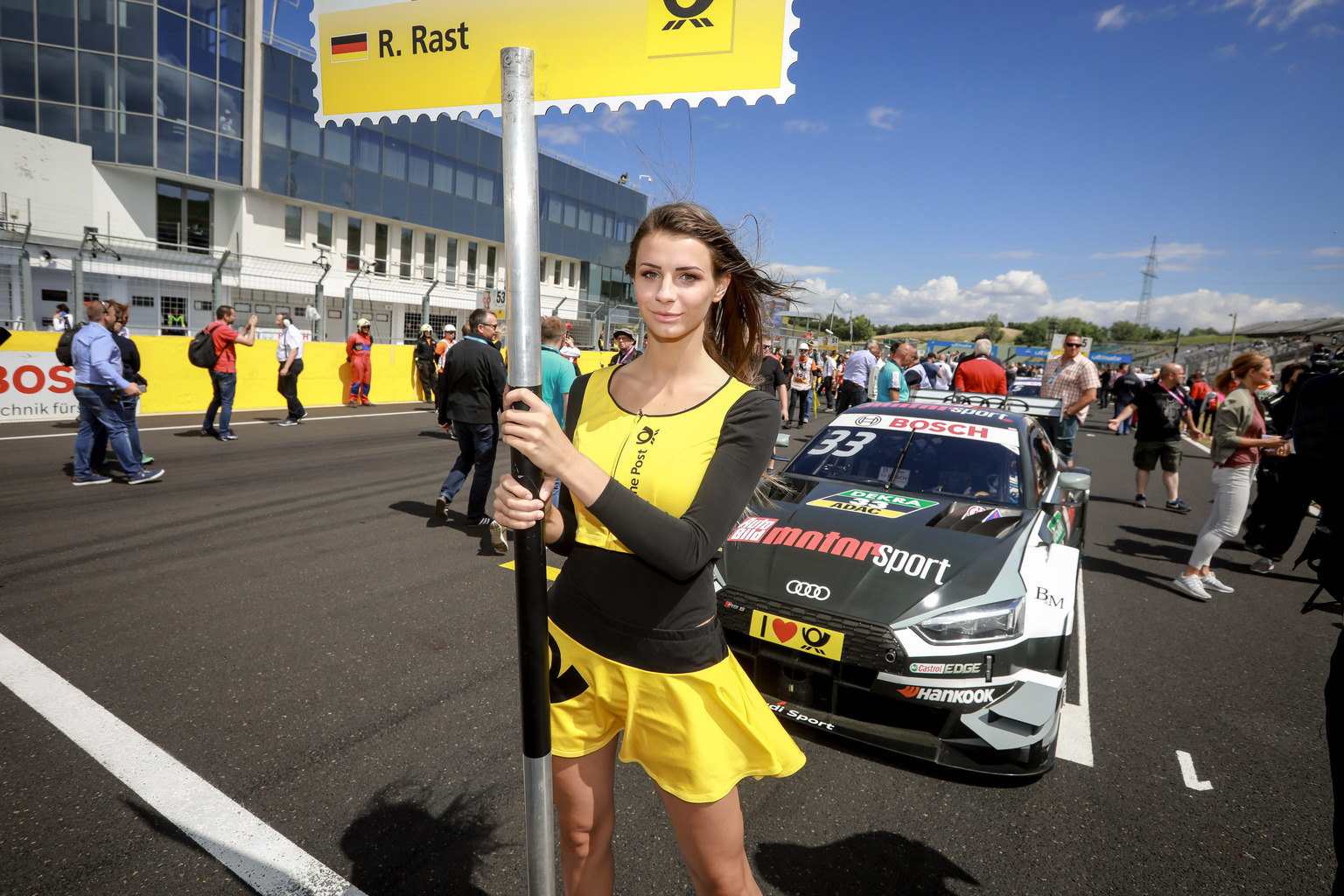 René Rust a pole-ban! - Fotó: DTM Media