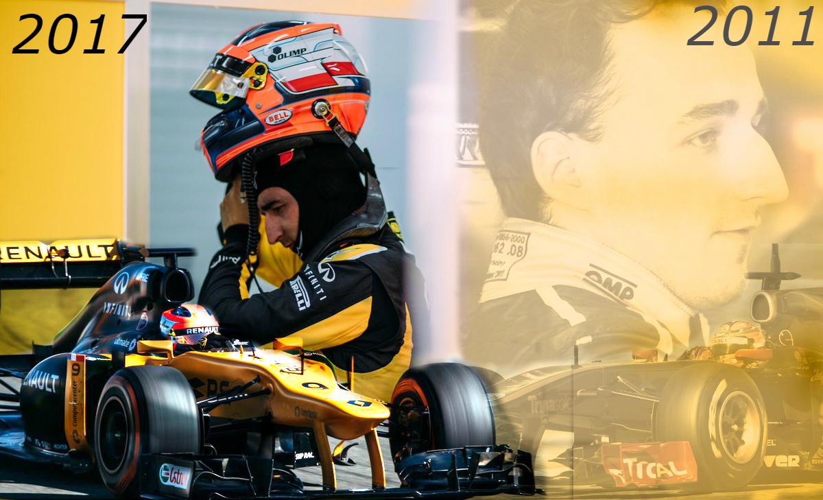 Jelen és múlt: Robert Kubica Valenciában tesztelt (Fotó: Bpxutca)