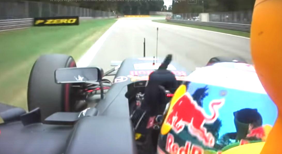 Ebben a tavalyi mutogatásban minden benne volt (Fotó: Formula1)