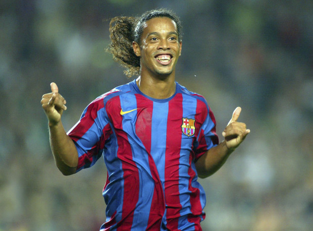 Ronaldinho (Fotó: metro.co.uk)
