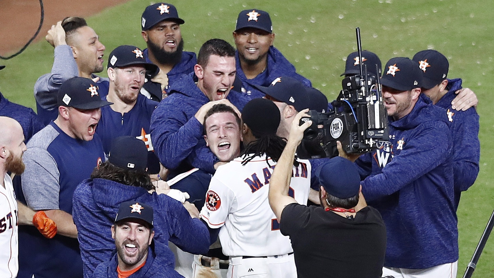 Houston Astros (Fotó: EPA/Larry W. Smith)