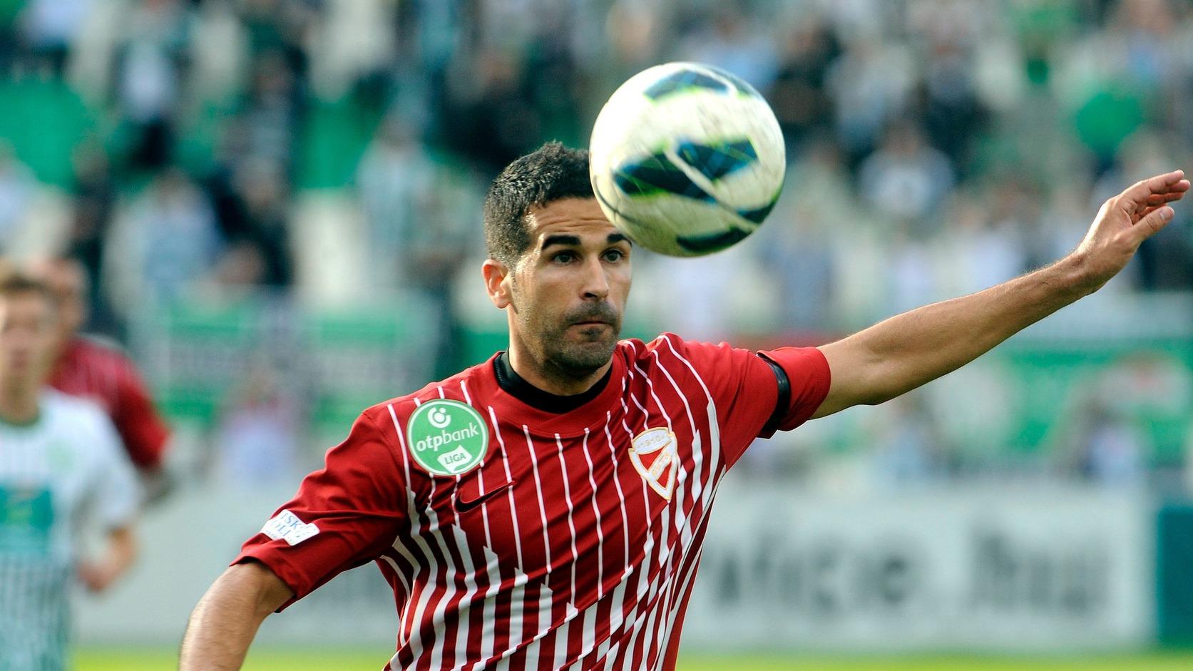 Fernandez Escribano Miguel Fernando a 2012 szeptemberi Ferencváros-Diósgyőr bajnokin (MTI Fotó: Földi Imre)