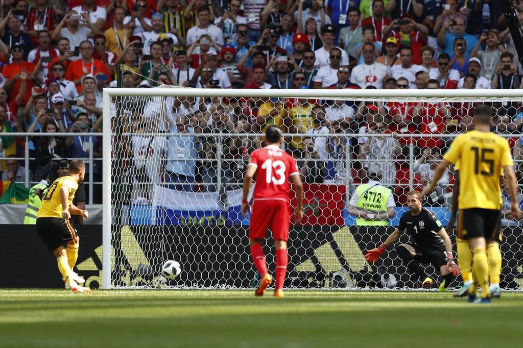 A belgák lefocizták Tunéziát a vb leggólgazdagabb meccsén (Videó!)