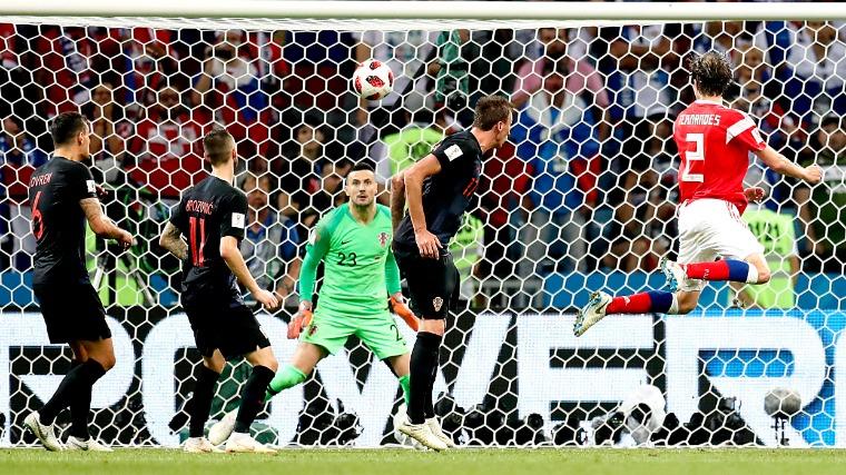 Hosszabbítás után, tizenegyesekkel dőlt el az orosz–horvát negyeddöntő (Videó!)