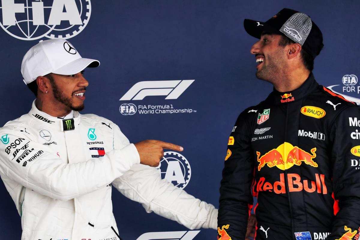 Lewis Hamilton és Daniel Ricciardo (Fotó: XPB)