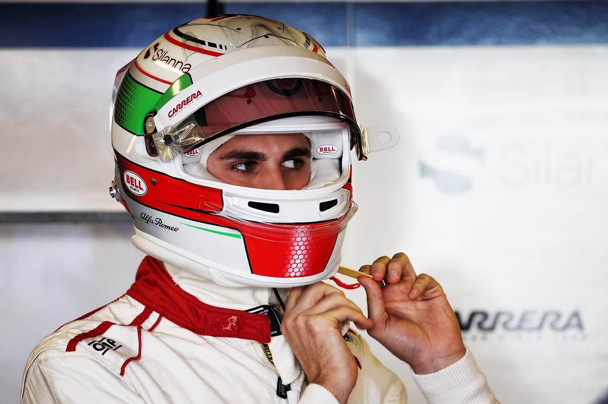 Antonio Giovinazzi (Fotó: XPB)