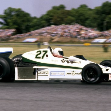 Alan Jones az 1978-as Argentin Nagydíjon (Fotó: Williams)