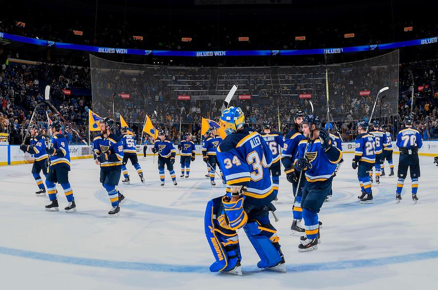 St. Louis Blues (Forrás: St. Louis Blues Facebook)