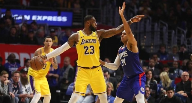 Clippers-Lakers (Fotó: NBA)