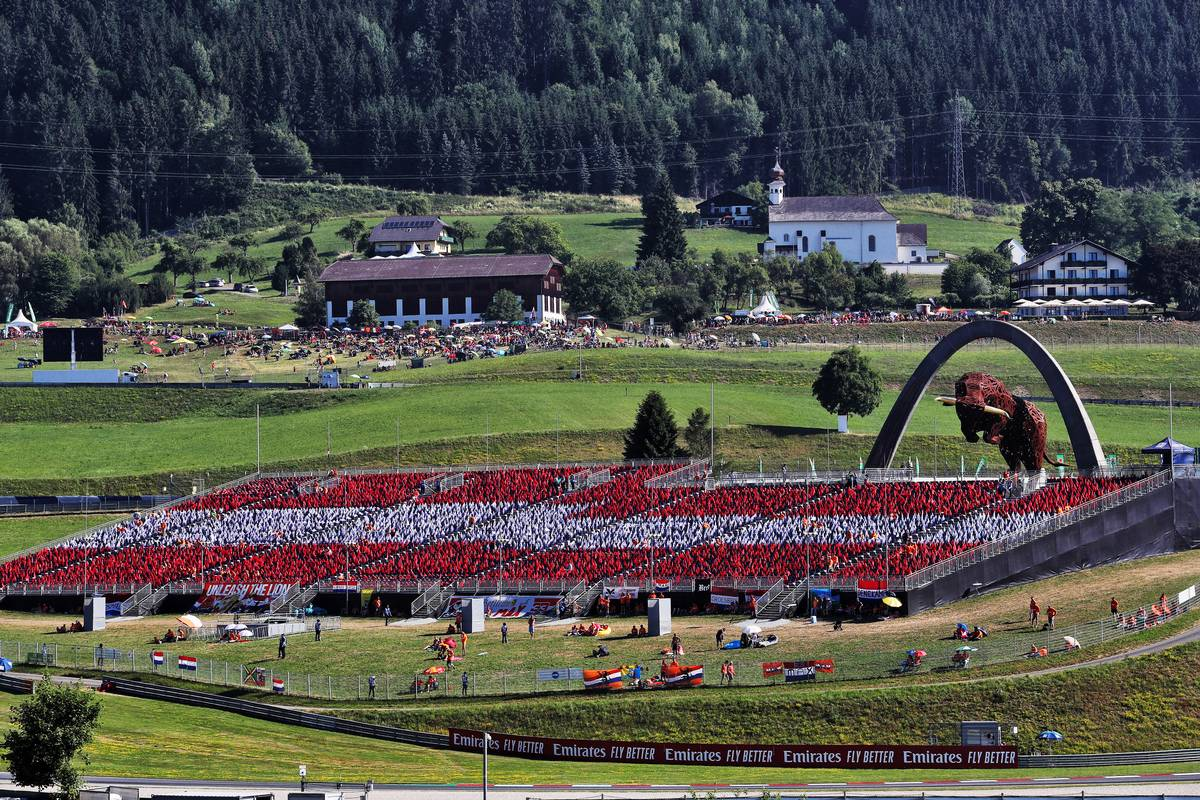 Motor Racing - Formula One World Championship - Austrian Grand Prix - Race Day - Spielberg, Austria