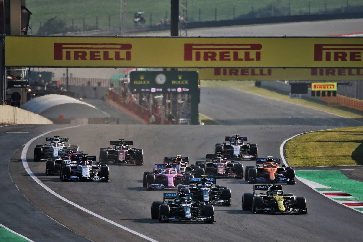Motor Racing - Formula One World Championship - Tuscan Grand Prix - Race Day - Mugello, Italy