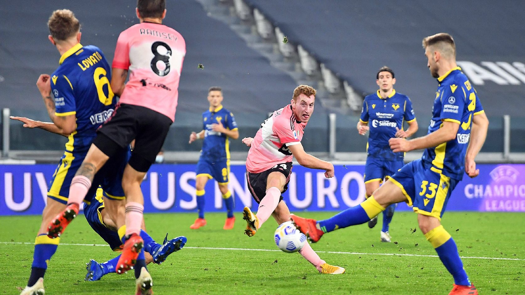 Pontokat veszített a Verona ellen a Juventus | M4 Sport