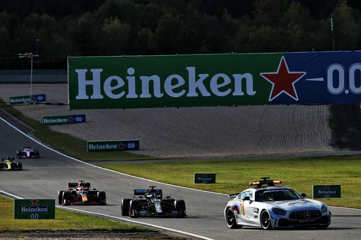 Motor Racing - Formula One World Championship - Eifel Grand Prix - Race Day - Nurbugring, Germany