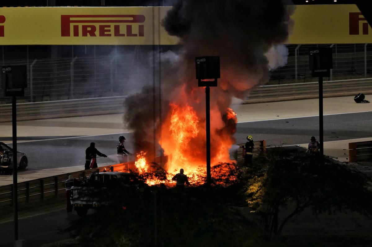 Bordatörés gyanújával vizsgálják Grosjeant az 53 G-s balesete után | M4  Sport